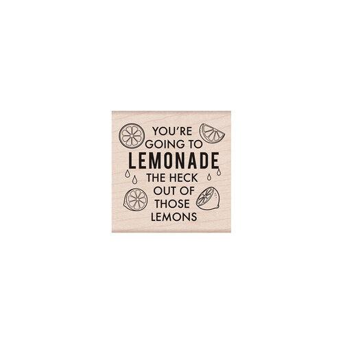 Hero Arts - Woodblock - Wood Mounted Stamps - Lemonade Message