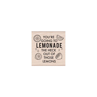 Hero Arts - Woodblock - Wood Mounted Stamps - Lemonade Message