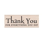 Hero Arts - Woodblock - Wood Mounted Stamps - Everything You Do