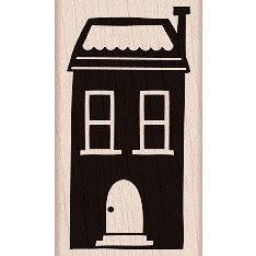 Hero Arts - Woodblock - Wood Mounted Stamps - A Simple House
