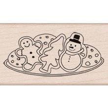 Hero Arts - Woodblock - Christmas - Wood Mounted Stamps - Christmas Cookies