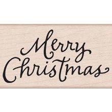 Hero Arts - Woodblock - Christmas - Wood Mounted Stamps - Handwritten Christmas 2