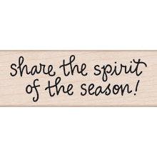 Hero Arts - Woodblock - Christmas - Wood Mounted Stamps - Spirit of The Season