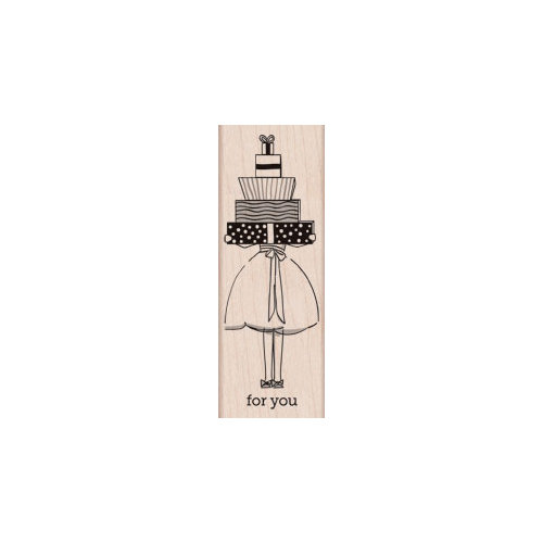 Hero Arts - Woodblock - Wood Mounted Stamps - For You Gifts