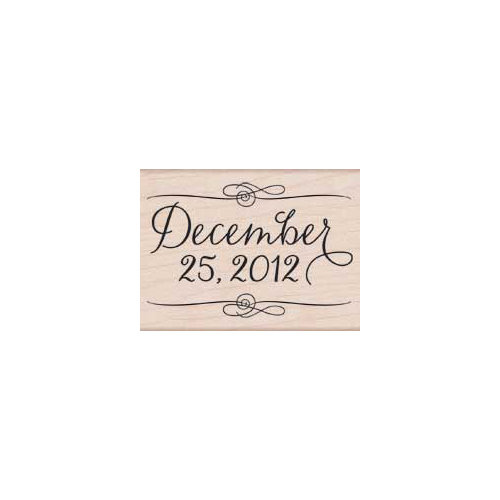 Hero Arts - Woodblock - Christmas - Wood Mounted Stamps - December 25, 2012