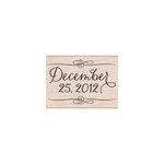 Hero Arts - Woodblock - Christmas - Wood Mounted Stamps - December 25, 2012