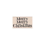 Hero Arts - Woodblock - Christmas - Wood Mounted Stamps - Merry Merry Christmas