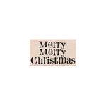 Hero Arts - Woodblock - Christmas - Wood Mounted Stamps - Merry Merry Christmas