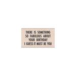 Hero Arts - Woodblock - Wood Mounted Stamps - Something Fabulous