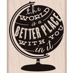 Hero Arts - Wood Block - Wood Mounted Stamp - Better Place