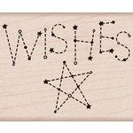 Hero Arts - Wood Block - Wood Mounted Stamp - Wishes