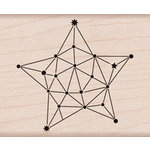 Hero Arts - Wood Block - Wood Mounted Stamp - Constellation Star