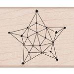 Hero Arts - Wood Block - Wood Mounted Stamp - Constellation Star