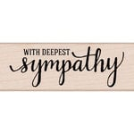 Hero Arts - Woodblock - Wood Mounted Stamps - With Deepest Sympathy