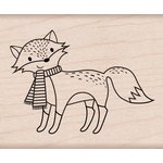Hero Arts - Christmas - Woodblock - Wood Mounted Stamps - Christmas Fox