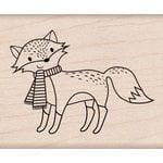 Hero Arts - Christmas - Woodblock - Wood Mounted Stamps - Christmas Fox