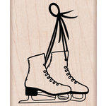 Hero Arts - Christmas - Woodblock - Wood Mounted Stamps - Ice Skates