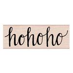 Hero Arts - Woodblock - Christmas - Wood Mounted Stamps - Ho ho ho