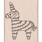 Hero Arts - Birthday Collection - Woodblock - Wood Mounted Stamps - Pinata