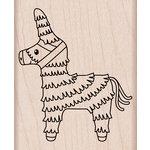 Hero Arts - Birthday Collection - Woodblock - Wood Mounted Stamps - Pinata