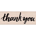 Hero Arts - Everyday Collection - Woodblock - Wood Mounted Stamps - Handwritten Thank You