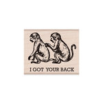 Hero Arts - Woodblock - Wood Mounted Stamps - I Got Your Back