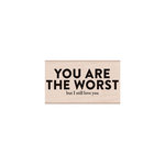 Hero Arts - Woodblock - Wood Mounted Stamps - Snarky Love You