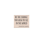 Hero Arts - Woodblock - Wood Mounted Stamps - Be The Change