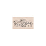Hero Arts - From the Vault - Woodblock - Wood Mounted Stamp - Christmas Banner