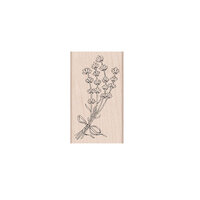 Hero Arts - Woodblock - Wood Mounted Stamps - Lavender Bunch