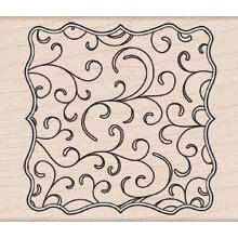 Hero Arts - Woodblock - Wood Mounted Stamps - Flourish Frame
