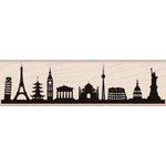 Hero Arts - Woodblock - Wood Mounted Stamps - International Skyline