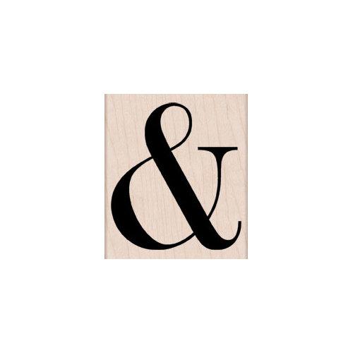 Hero Arts - Woodblock - Wood Mounted Stamps - Ampersand