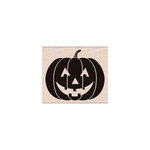 Hero Arts - Woodblock - Halloween - Wood Mounted Stamps - Scary Pumpkin