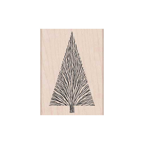 Hero Arts - Woodblock - Christmas - Wood Mounted Stamps - Many Branches Tree