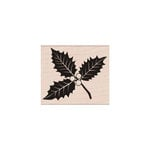 Hero Arts - Woodblock - Christmas - Wood Mounted Stamps - Poinsettia with Berries