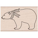 Hero Arts - Woodblock - Wood Mounted Stamps - Polar Bear