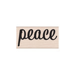 Hero Arts - Woodblock - Christmas - Wood Mounted Stamps - Bold Peace