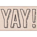 Hero Arts - Birthday Collection - Woodblock - Wood Mounted Stamps - YAY
