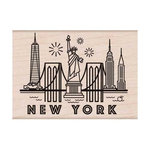 Hero Arts - Destination Collection - Woodblock - Wood Mounted Stamps - New York