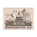 Hero Arts - Destination Collection - Woodblock - Wood Mounted Stamps - Washington, DC