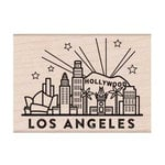 Hero Arts - Destination Collection - Woodblock - Wood Mounted Stamps - Los Angeles