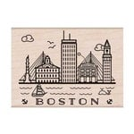Hero Arts - Destination Collection - Woodblock - Wood Mounted Stamps - Boston