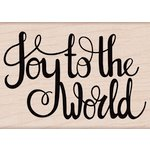 Hero Arts - Christmas - Woodblock - Wood Mounted Stamps - Joy To The World