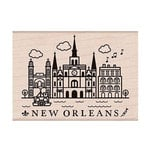 Hero Arts - Destination Collection - Destination - Wood Mounted Stamps - New Orleans