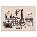 Hero Arts - Woodblock - Wood Mounted Stamps - Destination Paris