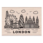 Hero Arts - Woodblock - Wood Mounted Stamps - Destination London