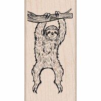 Hero Arts - Woodblock - Wood Mounted Stamps - Sloth