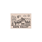 Hero Arts - Woodblock - Wood Mounted Stamps - Destination Napa Valley