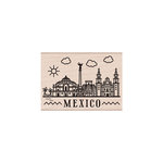 Hero Arts - Woodblock - Wood Mounted Stamps - Destination Mexico